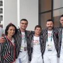 Olympijský vítěz se svým realizačním týmem